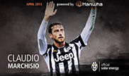 Claudio Marchisio voted for the month of April MVP