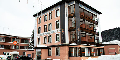 Hanwha booked the entire Hotel Concordia, near the Davos Congress Centre, as its base of operations during the World Economic Forum Annual Meeting 2019
